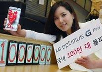 LG Optimus G Pro: già venduti un milione di smartphone