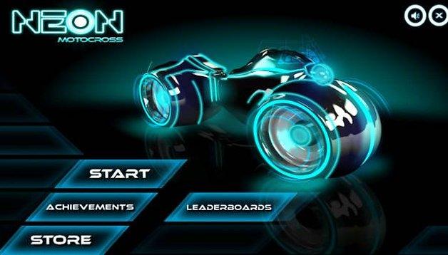 Neon Motocross, corse a piattaforme