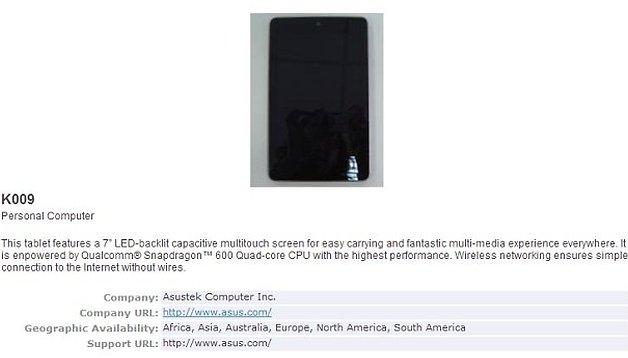 Nuovo Nexus 7 in arrivo? Ecco i rumors