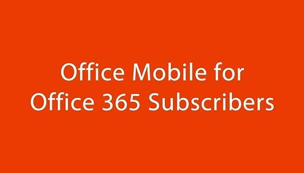 Office Mobile per Office 365