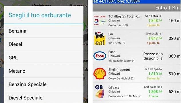 Prezzi Benzina: la app Android per automobilisti