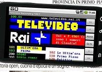 Televideo RAI, ecco la app per smartphone