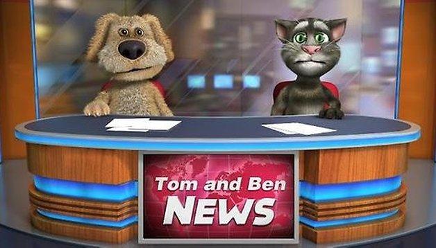 Talking Tom & Ben News Free, animali che parlano