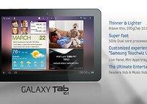 [Update] Samsung stellt überarbeitetes Galaxy Tab 10.1 vor - Deutschland bekommt vorerst nur die alte Version?