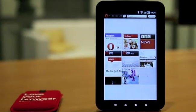 Opera rüstet für Tablet Ansturm auf
