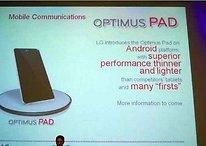 [Gerücht] Bringt LG auf der CES das OptimusPad?