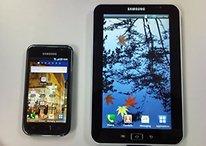 Twittern über einen Prototyp - das Samsung Galaxy Tab