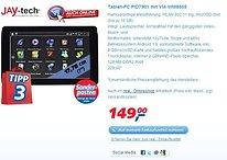 """Ein wenig Ironie zur Abendstunde: Der """"Tablet-PC PID7901"""" - ein echtes Schnäppchen?!"""