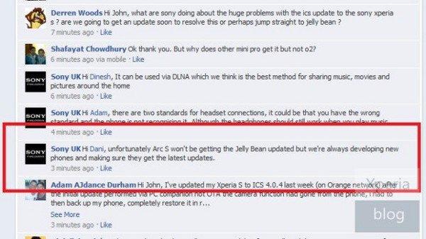 actualizacion jelly bean xperia 2011