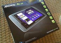 "Zu billiges ""Billig-Tablet""? - Erste Eindrücke vom Archos 80 G9 Honeycomb-Tablet"