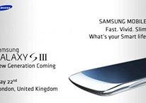 Samsung Galaxy S3 - Nueva imagen y lanzamiento para el 22 de mayo