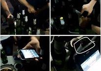 [Video] Meizu MX und iPhone 4S im Bieröffner-Härtetest