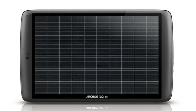 Solar-Powered Tablet PC