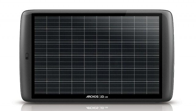 Archos está concebendo tablet 4G/LTE com energia solar e NFC