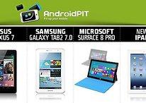 [Infografik] Nexus 7 vs Galaxy Tab 2 vs Windows Surface vs iPad