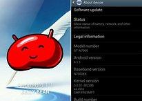 Android 4.1 für das Galaxy Note: Viele neue Features