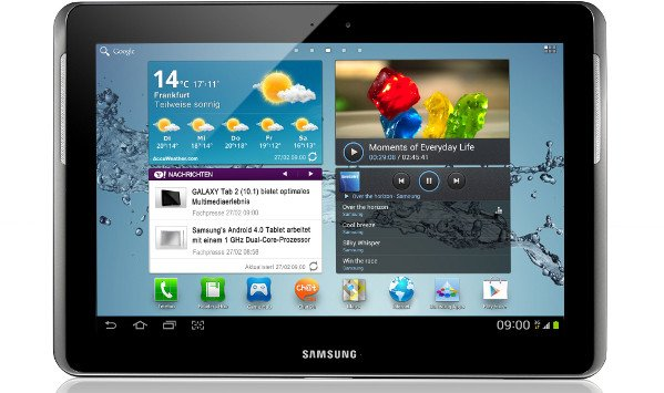 galaxy tab 2 android 4.1.2