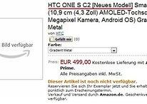 """HTC One S mit Snapdragon S3 CPU kommt als """"C2"""""""