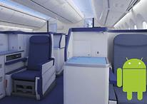 Android como sistema de entretenimiento en los aviones Boeing
