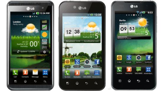 LG bringt Android 4.0 Updates für Optimus Speed, Black ...