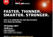 Faster, Thinner, Smarter, Stronger – Was zeigt Motorola am 18. Oktober in NY?