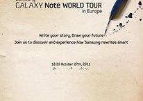 """Samsung Galaxy Note-Event am 27. Oktober: Kein NFC und """"nur"""" 16 GB"""