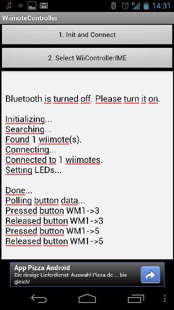 Gaming Guide #1] Wii Remote als Gamepad für Smartphone und