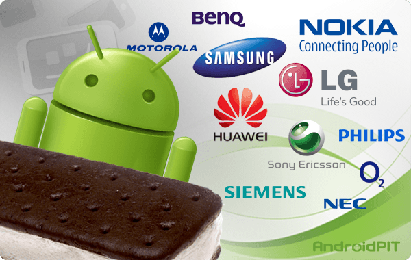 Samsung update Ice Cream Sandwich