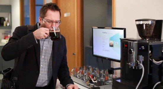 Android SMS Coffeemachine Kaffemaschine