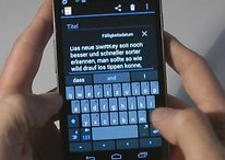 SwiftKey 3 Beta para Android - ¿Quién necesita la barra de espacio?