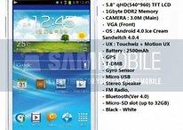 """Samsung Galaxy Player de 5,8"""" : écouter de la musique en (trop) grand"""