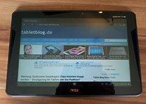 Tegra 3 und ICS - Erstes deutsches Unboxing vom Acer Iconia Tab A510