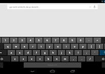 ¡Sorpresa! Android 4.2 viene con un teclado extra para tablets
