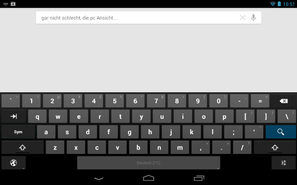android 4.2 teclado tablets