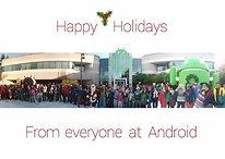 Google Android te desea Feliz Navidad
