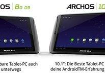 ¿Los tablets Archos G9 con 1 GB de RAM en el futuro?