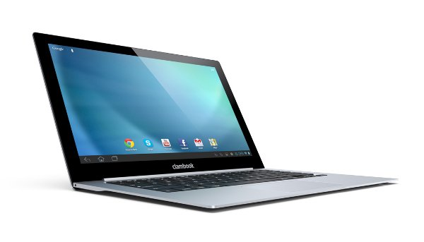 clambook android laptop