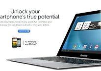 Clambook convierte tu smartphone Android en un portátil