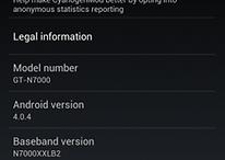 Primer CyanogenMod 9 oficial para el Samsung Galaxy Note