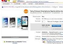 [Deals] Sony Xperia S (ca. 350€ ?) und Xperia Active (149,90€)