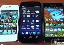 Battle of the Displays: Galaxy Nexus vs. Galaxy S2 vs. iPhone 4S