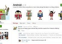 Android no Google+ anúncia surpresa para esta segunda