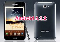 Android 4.1.2 für Galaxy Note: Erste Test-Firmware aufgetaucht