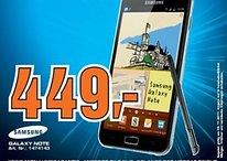 """Samsung Galaxy Note """"Special Deal"""" am 5. November in Hamburg - noch günstiger als vermutet"""