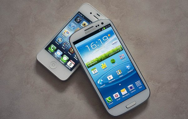 galaxy s3 vs iphone 4s