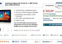 [Deal] Galaxy Tab 10.1N mit UMTS für 369,90 €