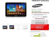 [Deal] Galaxy Tab 8.9 in Weiß mit 16 GB und UMTS für 379 €
