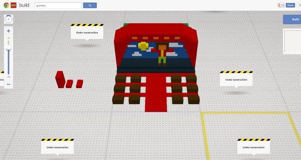 google chrome lego