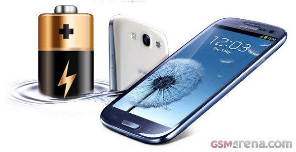 Galaxy S3 Akkulaufzeit