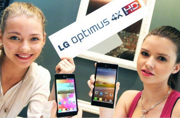 hands-on LG optimus 4X HD HTC One X